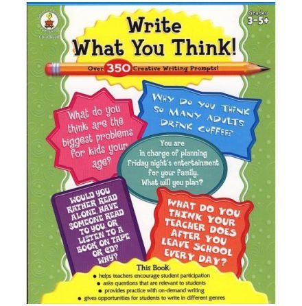 Write what you think
