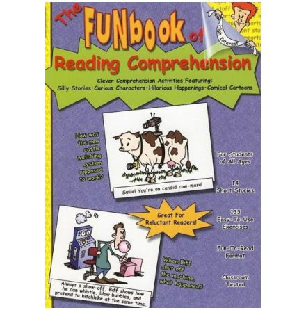 The Fun Book of Reading Comprehension +CD