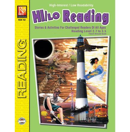 Hi/Lo Reading, green book