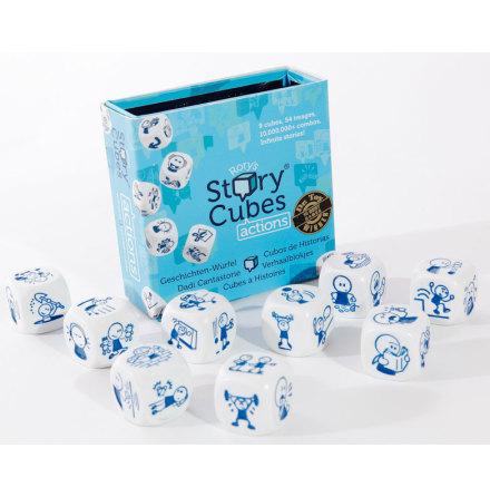 Bildtärningar, Story Cubes, blå låda