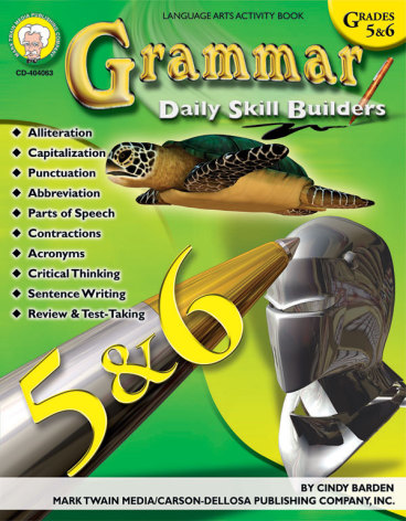 Daily skill builders - Grammar resource book