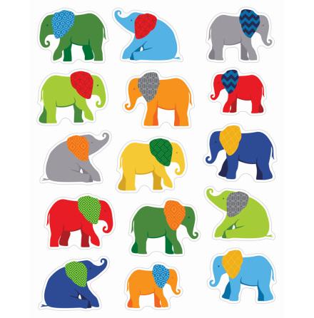 Elefantparaden, klistermärken