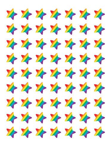 Småstjärnorna, klistermärken