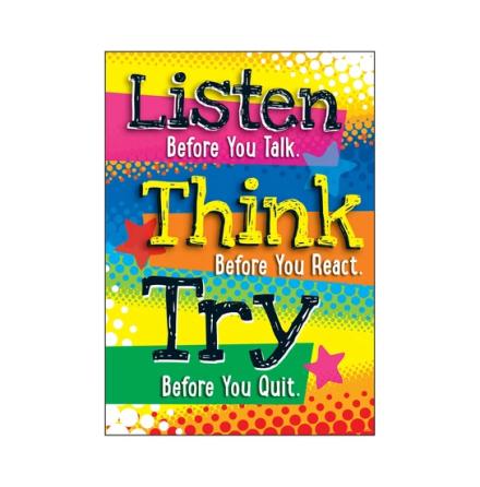 Listen before..